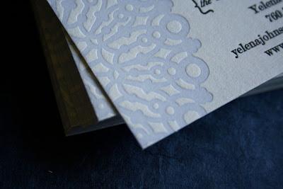 Custom Business Cards | The Stylish Soiree
