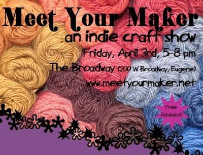 First Friday Artwalk and Meet Your Maker tomorrow!