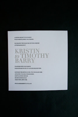 Weddings | Simple, Yet Sophisticated: Kristin & Timothy