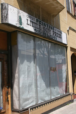 Letterpress of the Past: North Beach, California