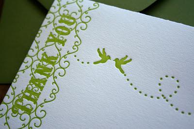 Beautiful Bilingual Korean & English Wedding Menus & Thank You Cards