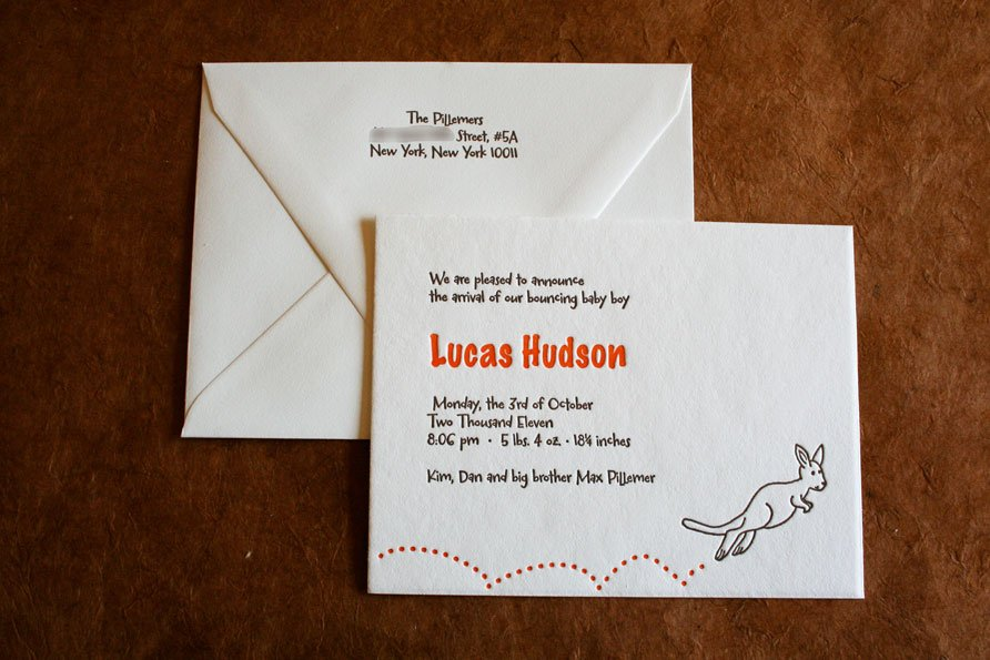 Baby Announcements | Lucas Hudson