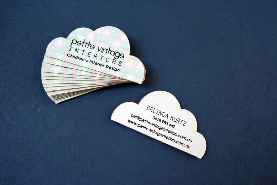 Custom business cards petite vintage interiors twin ravens press if you happen to live or be visiting queensland australias beautiful gold coast go check out petite vintage if you live in australia they are happy reheart Images