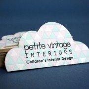 Custom Business Cards | Petite Vintage Interiors