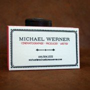 Custom Business Cards | Michael Werner