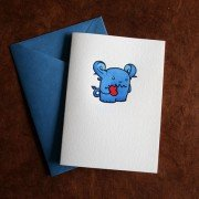 Adorable Monster Cards by Josh Searl