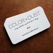 Custom Business Cards | Color & Dust