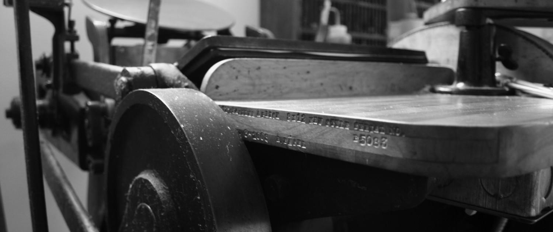 About Letterpress - Twin Ravens Press