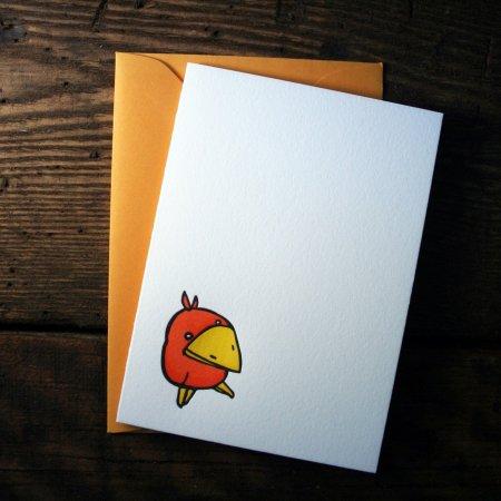 Happy Orange Bird