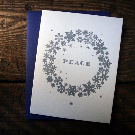Peace Snowflakes