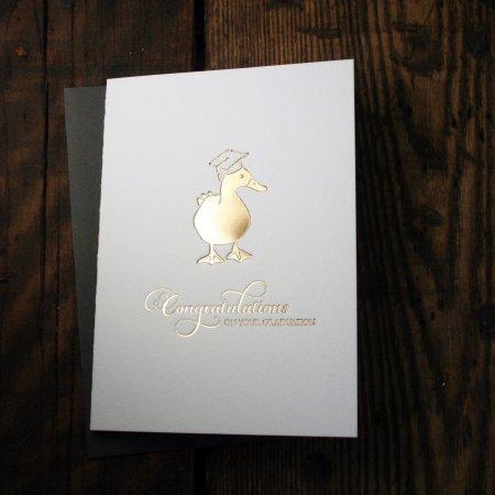 Graduation Duck
