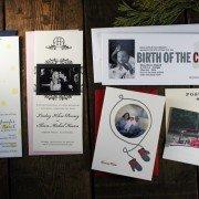 December Special | 20% Off Letterpress Photo Cards