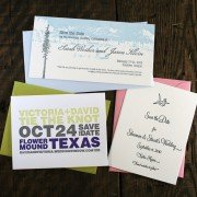 January Special   20% Off Save-the-Date Cards