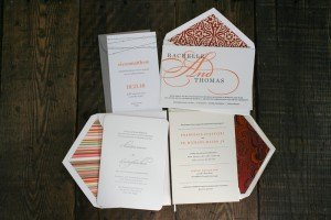 March + April Custom Printing Special | Modern Wedding Invitations