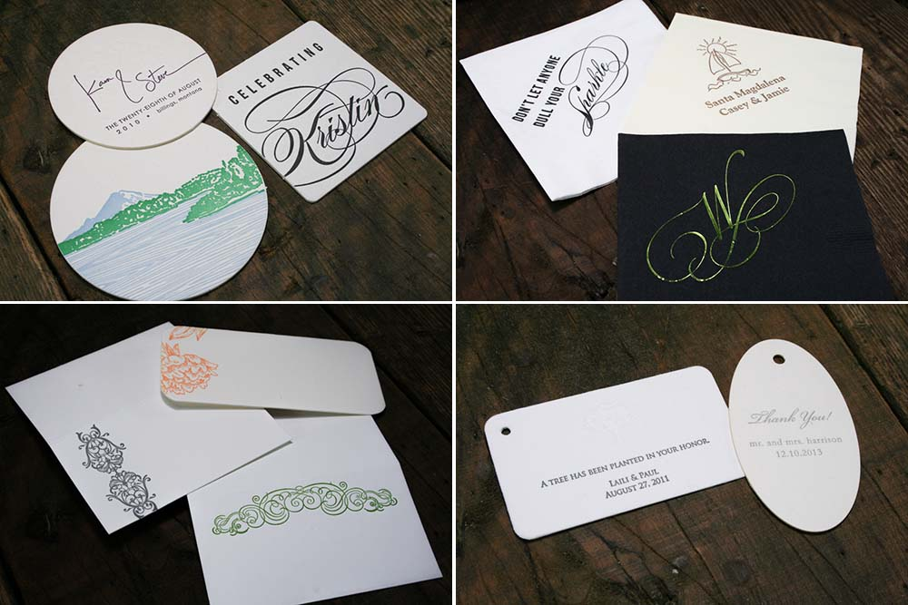 June Custom Printing Special | 20% Off Day-of-Wedding Stationery and Accessories